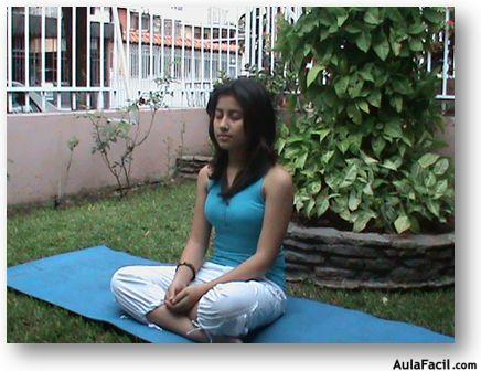 Técnicas de relajación para los niños. Mandíbula - Yoga..