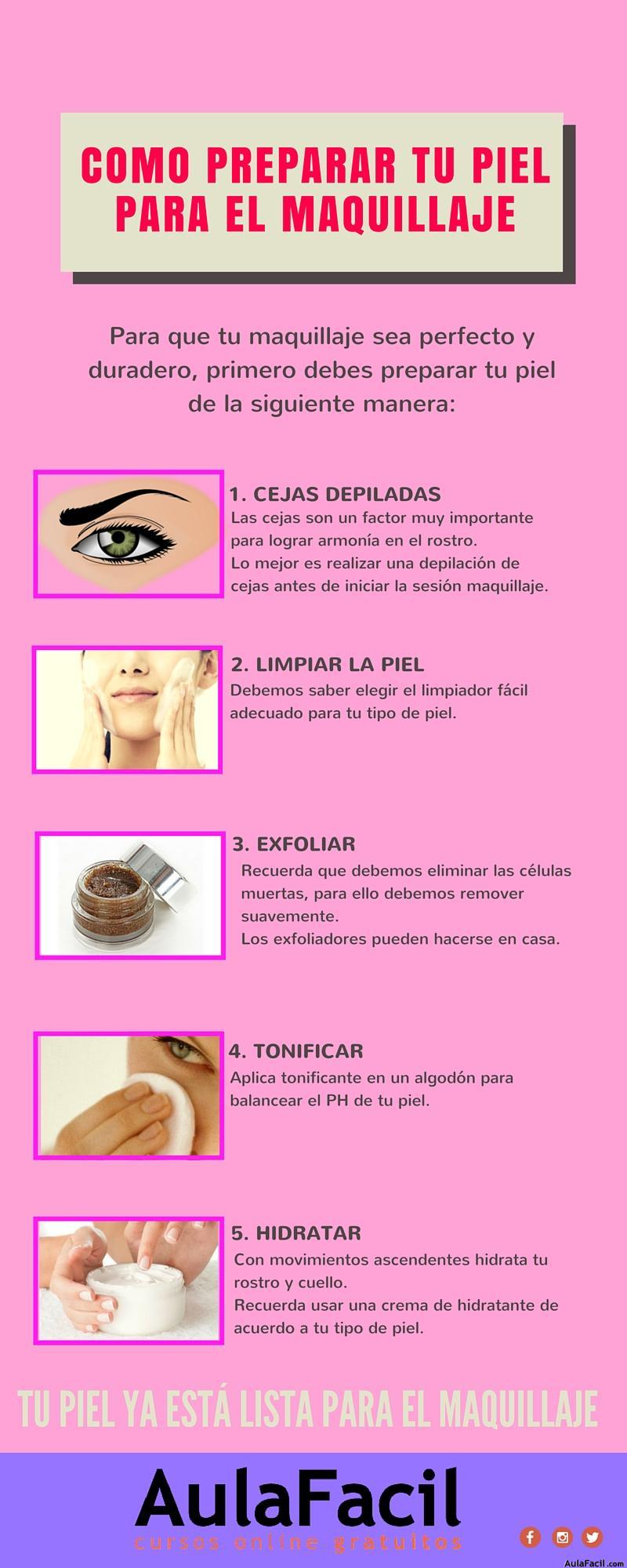 como preparar tu piel para el maquillaje