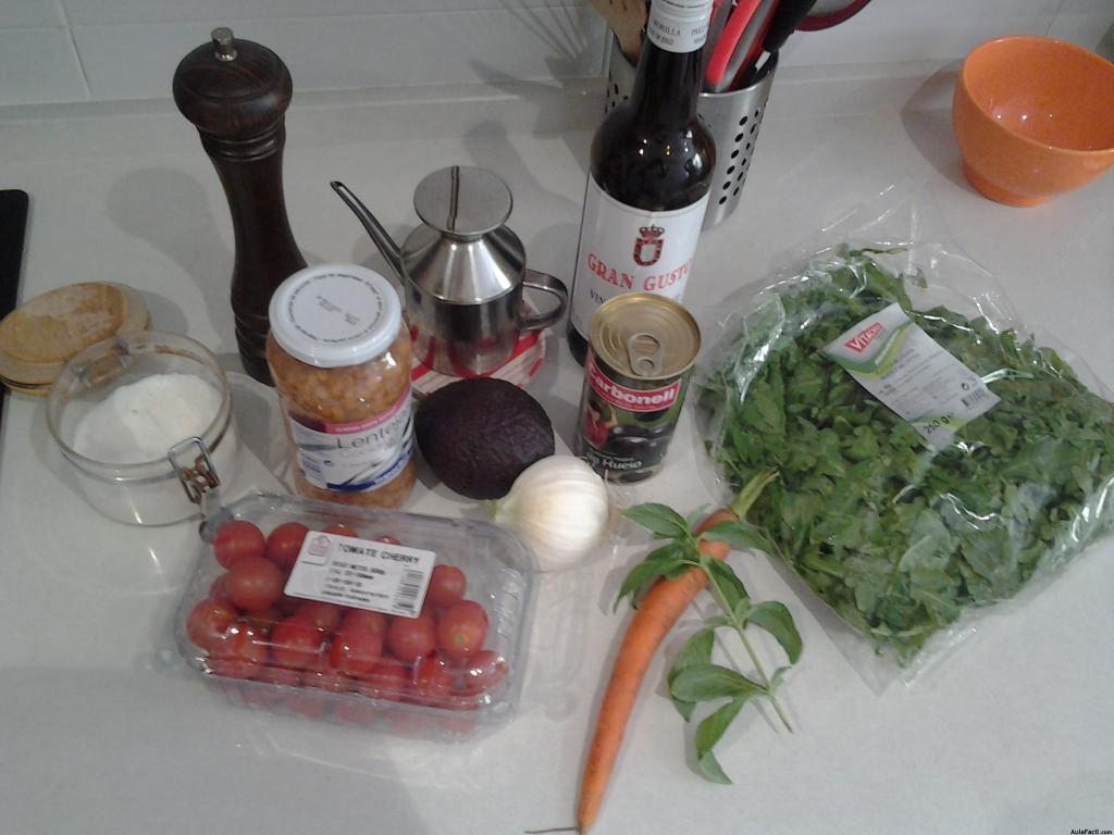 Curso gratis de cocina vegetariana chef beto recetas vegetarianas ensalada de lentejas con - Curso de cocina vegetariana ...
