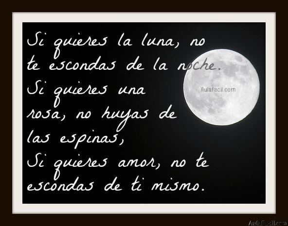si quieres la luna