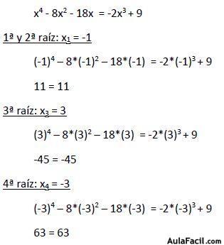 Curso gratis de Ecuaciones - Ecuaciones de cuarto grado | AulaFacil ...