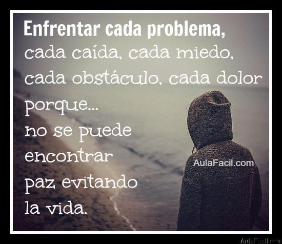 enfrentar cada problema