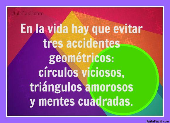accidentes geométricos