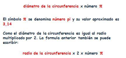 ⏩Longitud de la Circunferencia y Área del Círculo - Matemáticas ...