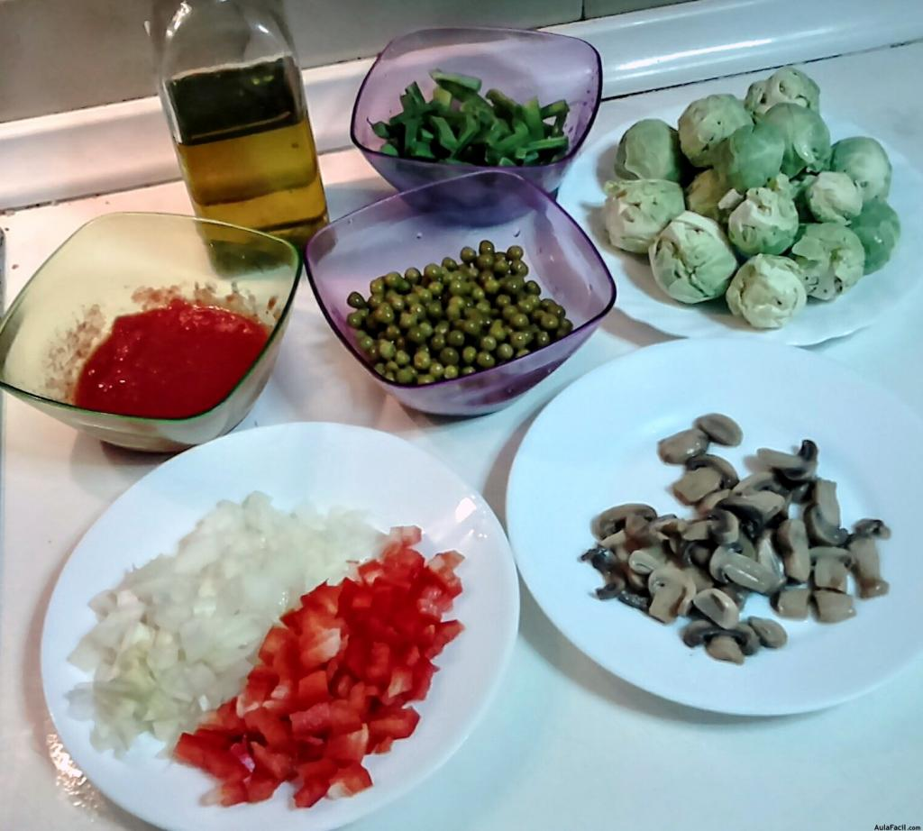 Ingredientes menestra