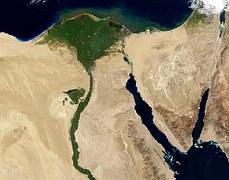 Vista del río Nilo