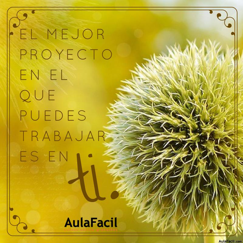PensamientoPositivo ElMejorProyecto AulaFacil