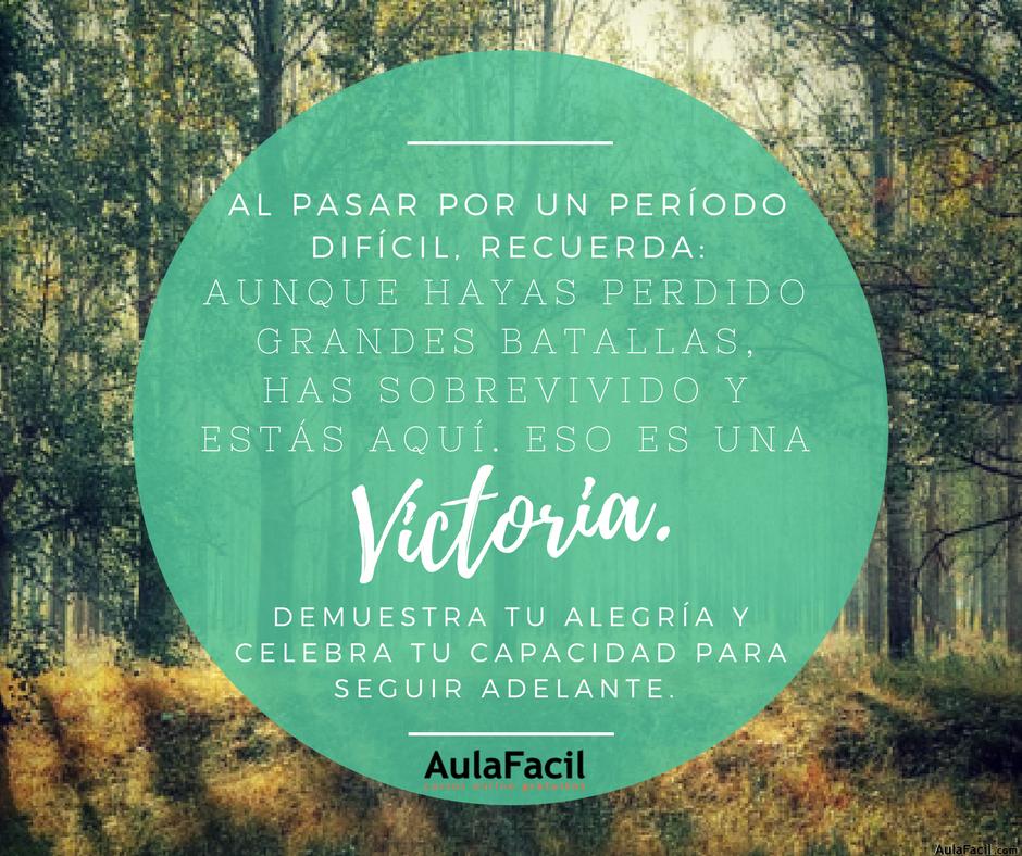 PensamientoPositivo Victoria AulaFacil
