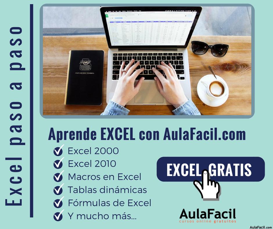 AprendeExcel AulaFacil