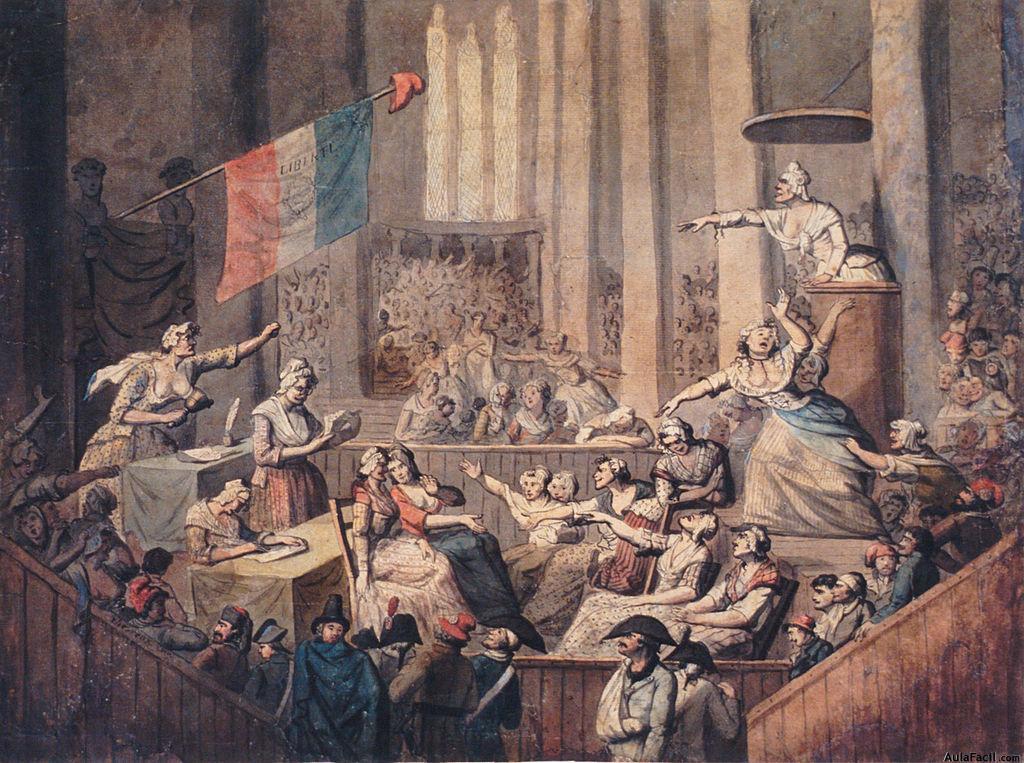 1024px Chérieux Club des femmes patriotes dans une église 1793