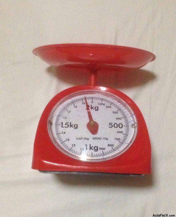 balanza de onzas y kilos.
