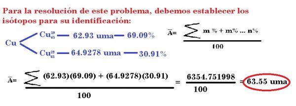 ⏩Relaciones de masa de los átomos. - Problemas de química general ...