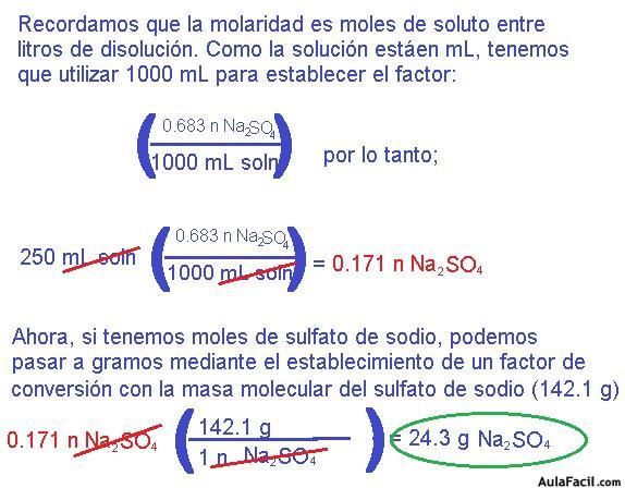 Concentración De Disoluciones Problemas De Química General Para Universitarios