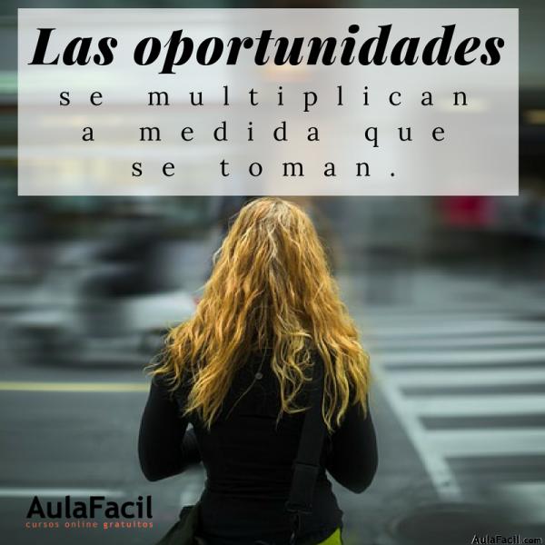 PensamientoPositivo LasOportunidades AulaFacil