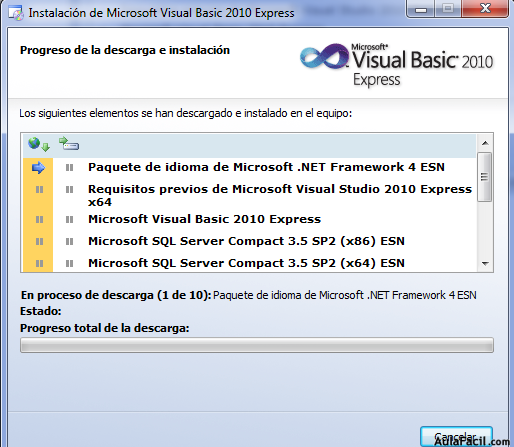 🥇▷【 2 2 Descargar e instalar Visual Basic 2010 - Visual