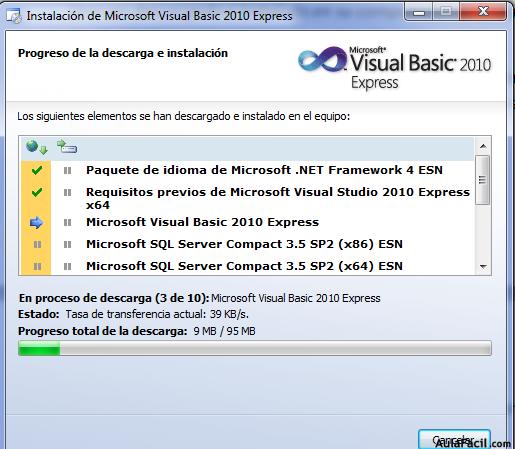 🥇▷【 2 2 Descargar e instalar Visual Basic 2010 - Visual Basic