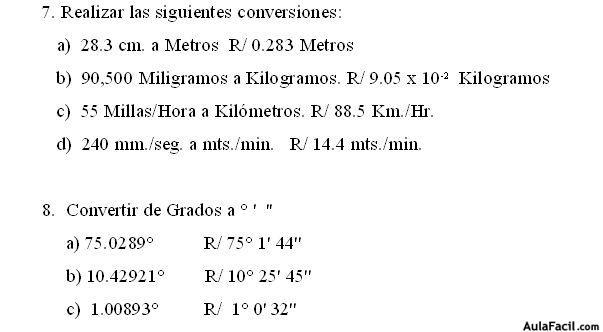 ⏩Guía de Ejercicios No. 1 - Física General I - Notaciones ...