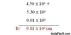 ⏩Notación Científica: Suma - Física General I - Notaciones ...