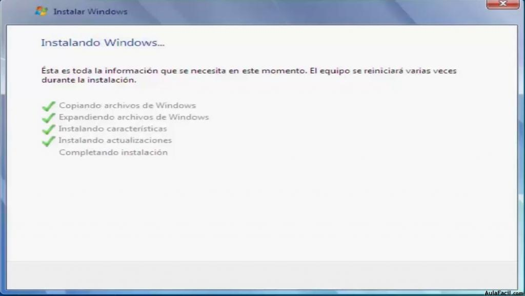 Instalacion de Windows