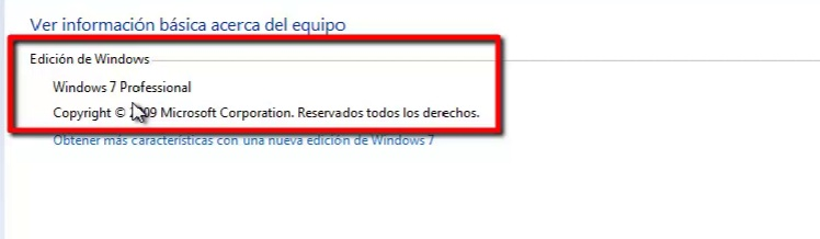 Windows 7 Proffesional