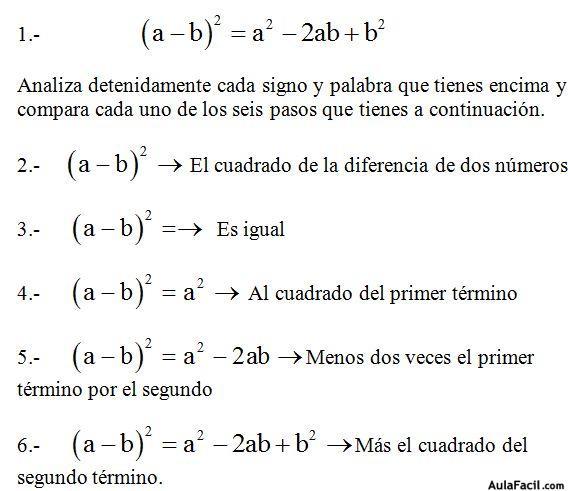 ⏩Productos Notables - Fracciones, Monomios, Polinomios, Álgebra ...