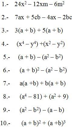 ⏩Sacar Factor Común - Fracciones, Monomios, Polinomios, Álgebra ...