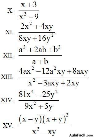 ⏩Simplificación de Fracciones - Fracciones, Monomios, Polinomios ...