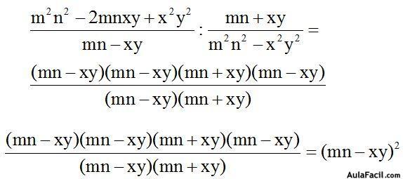 ⏩Multiplicación y división de fracciones algebraicas - Operaciones ...
