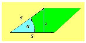 ⏩Hallar el área de un paralelogramo conociendo los vectores que ...