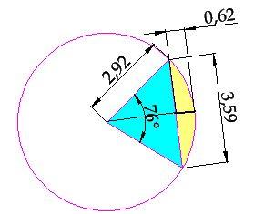 ⏩Cálculo del Área de un Segmento Circular - Áreas Geométricas ...