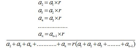 ⏩Suma de los Términos de una Progresión Geométrica - Progresiones ...