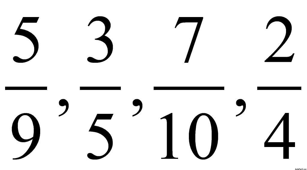 ⏩Calcular el m.c.m. de varios números - Fracciones | AulaFacil.com ...