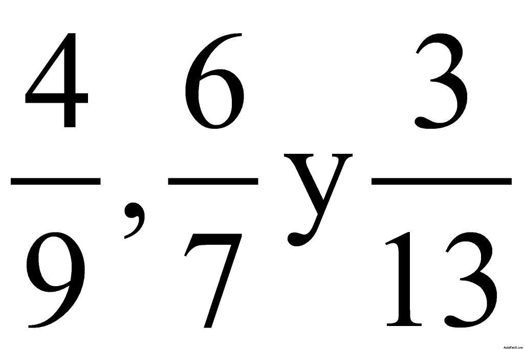 ⏩Forma para buscar fracciones equivalentes - Fracciones | AulaFacil ...