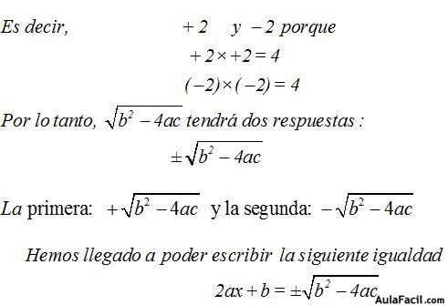 ⏩Ecuaciones de Segundo Grado - Ecuaciones de Segundo Grado ...