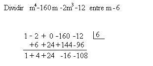 ⏩División sintética - Álgebra | AulaFacil.com: Los mejores cursos ...