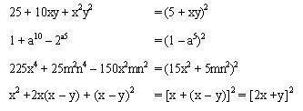 ⏩Trinomio cuadrado perfecto - Álgebra   AulaFacil.com: Los mejores ...