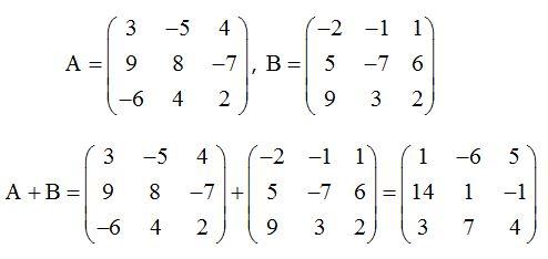 ⏩Operaciones con Matrices. Ejercicio #8 - Matrices y Determinantes ...