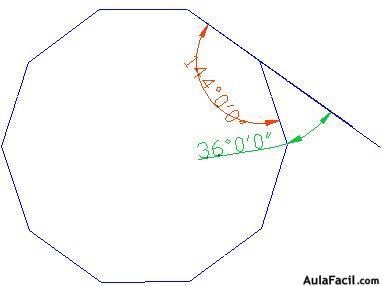 ⏩Ángulo exterior de un Polígono - Geometría | AulaFacil.com: Los ...