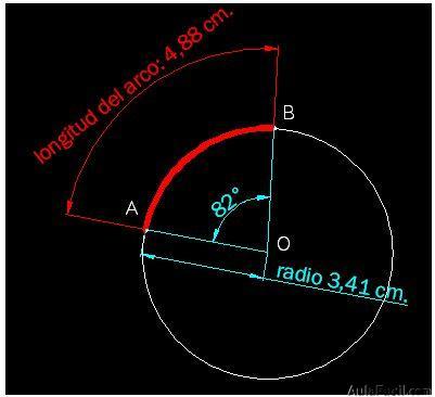 ⏩Calcular la longitud de un arco de Circunferencia - Geometría ...
