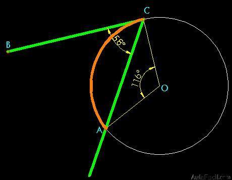 ⏩Los Ángulos en la circunferencia - Geometría | AulaFacil.com: Los ...