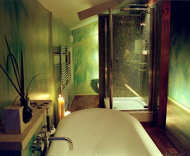 Accesorios Baño Verde:baño verde