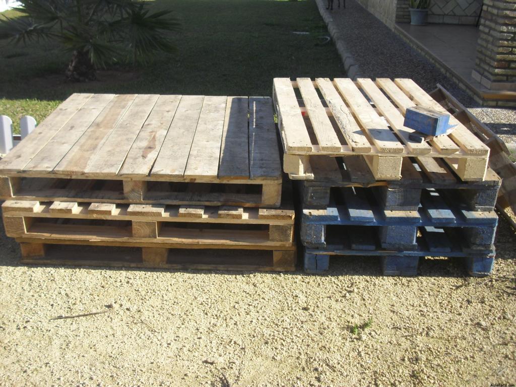 Curso gratis de construcci n de mobiliario con palets - Reciclar con palets ...