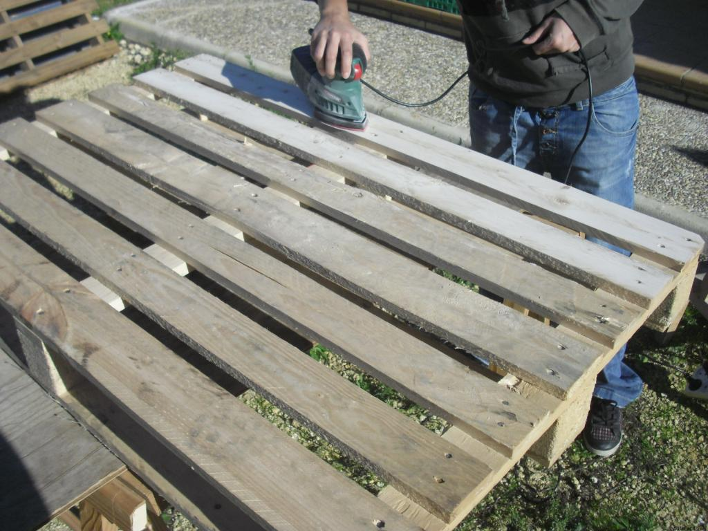 Como lijar un palet a mano transportes de paneles de madera - Como lijar madera ...