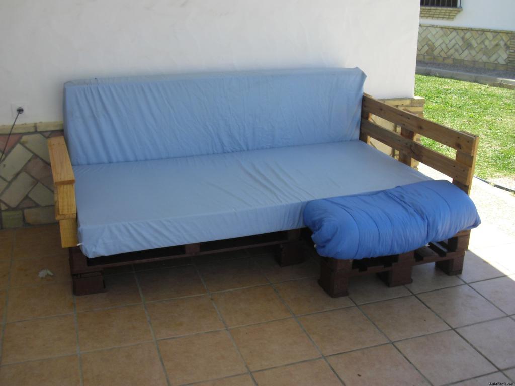 sofas de palets reciclados sofa exterior palets with