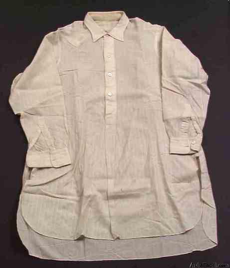 Long Sleeve Denim Shirt Men