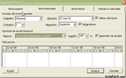 formato carta gantt word