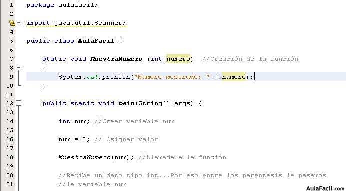 Curso gratis de java b sico funciones for Funcion de salida