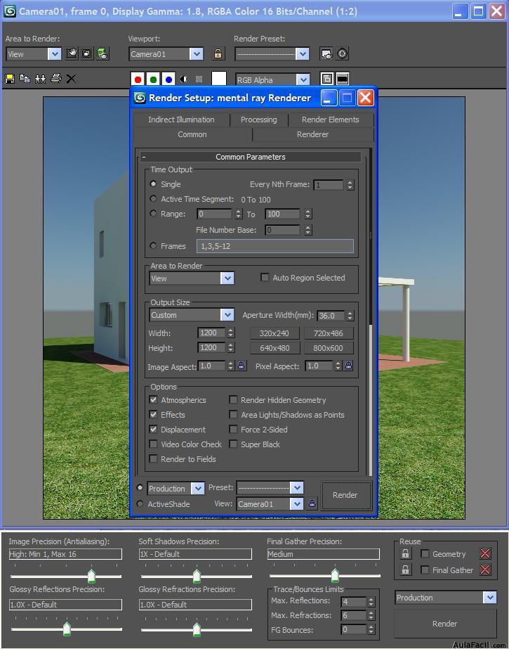 🥇▷【 Ambientar con Photoshop - 3D Studio Max - Básico 】