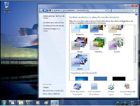 Tareas Iniciales: Personalizar Windows